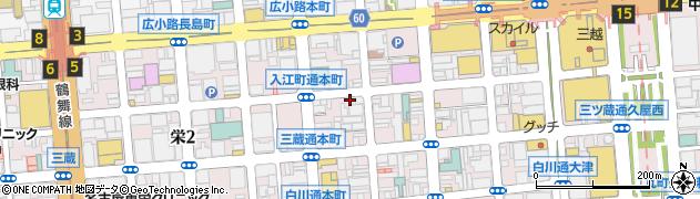 仁志河周辺の地図