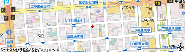 ダンディーライオン周辺の地図
