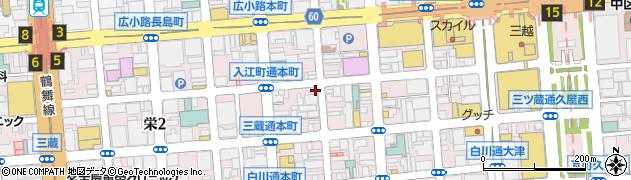 CREAM・BAR周辺の地図