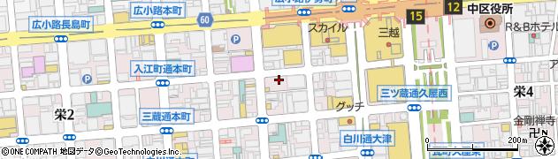 蛇の目鮨本店周辺の地図
