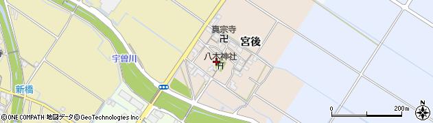 八木神社周辺の地図