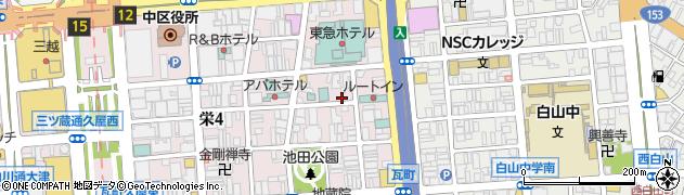 すなっく京周辺の地図