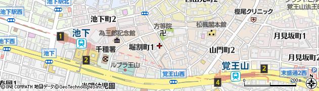 愛知県名古屋市千種区堀割町周辺の地図