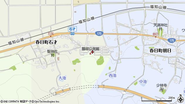 〒669-3412 兵庫県丹波市春日町園部の地図