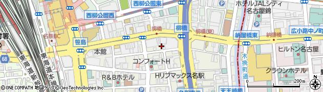 尾州周辺の地図