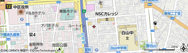 加奈周辺の地図