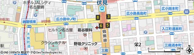 なべ鐵周辺の地図