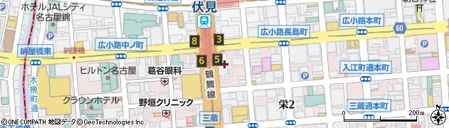 PIZZASALVATORECUOMO伏見店デリバリー周辺の地図
