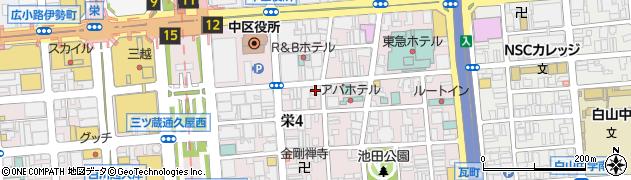 ワンラボ(oneluvo)周辺の地図