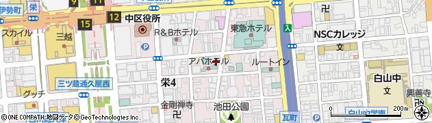 クラブ・エメラルド周辺の地図