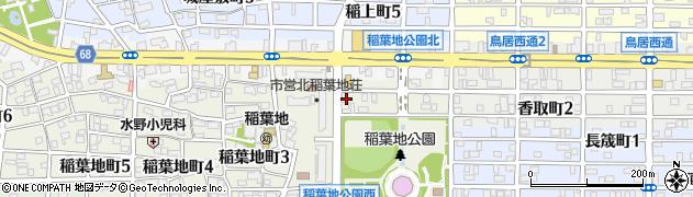 味城軒周辺の地図