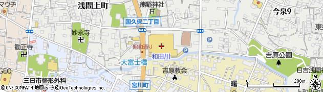 株式会社ホロタチェーン アピタ富士吉原店周辺の地図