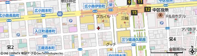 ロックショア周辺の地図