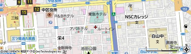 エンブレム周辺の地図