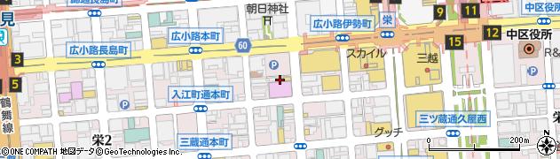 有限会社夜来香 本店周辺の地図