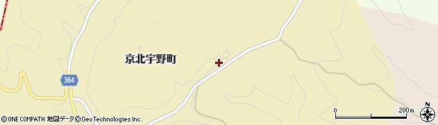 京都府京都市右京区京北宇野町(東)周辺の地図