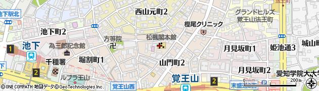 レッド・ホース周辺の地図