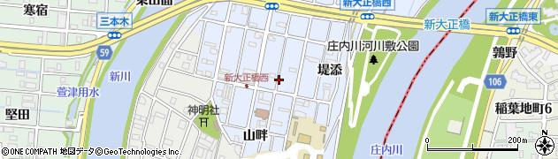 愛知県大治町(海部郡)八ツ屋周辺の地図