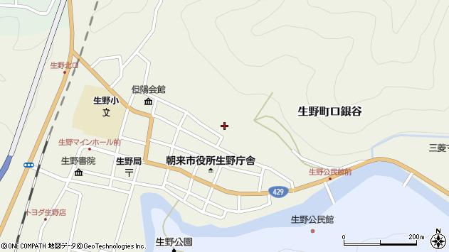 〒679-3301 兵庫県朝来市生野町口銀谷の地図