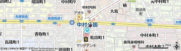 ちんどん中村公園店周辺の地図
