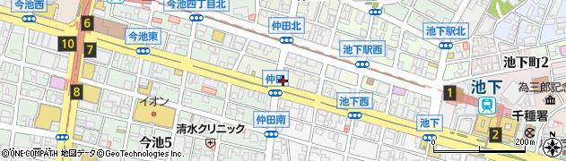 ほっかほっか亭 広小路仲田店周辺の地図