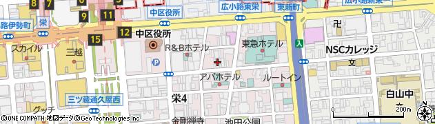 なか田周辺の地図