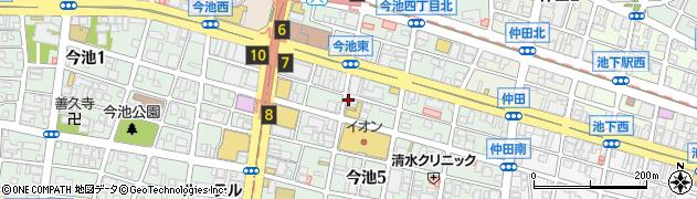 もりもり弁当周辺の地図