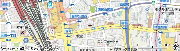株式会社知加羅周辺の地図