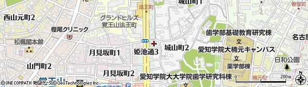 小久保周辺の地図