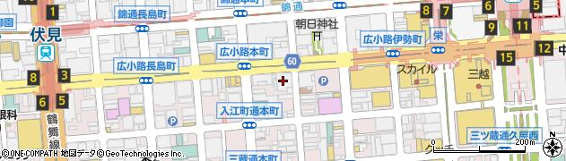 ひしや周辺の地図