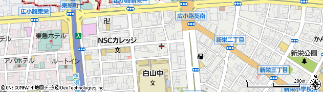 ピユアシヤイン周辺の地図