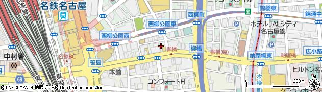 キャバレー花園名駅店周辺の地図
