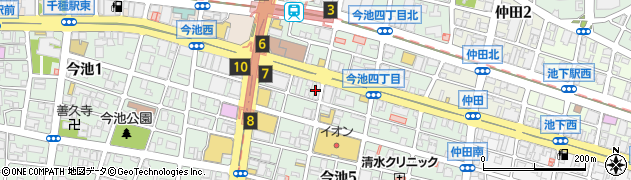 長城周辺の地図
