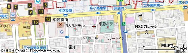 メンバーズジュノ周辺の地図