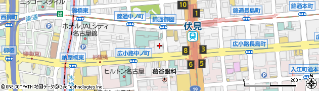 酒座周辺の地図