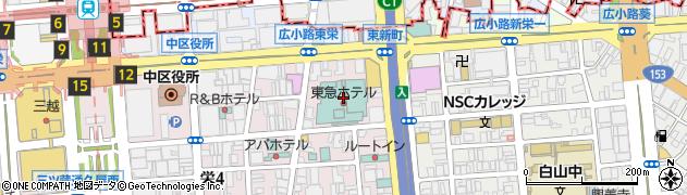 フォンタナ・ディ・トレビ名古屋東急ホテル店周辺の地図