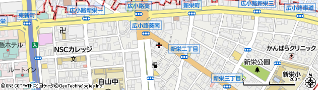 株式会社国際フードサービス 本社周辺の地図