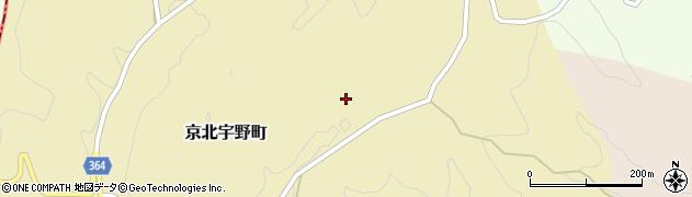 京都府京都市右京区京北宇野町(廿谷)周辺の地図