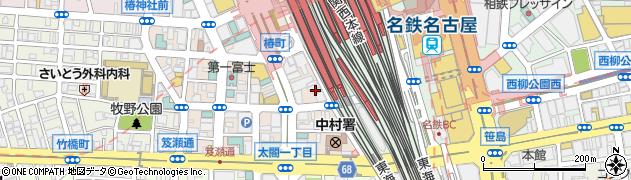 イタリアンバル小麦 名駅西口店周辺の地図
