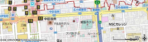 ポーラ・ヴォーラ周辺の地図