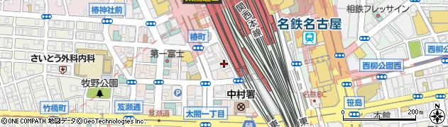 みつえもん名駅本店周辺の地図
