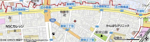 レストラン・ツル別館周辺の地図