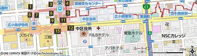 名古屋ハイボールBAR周辺の地図