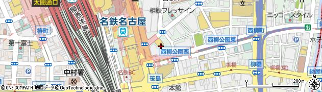 名駅四丁目酒場メイヨン周辺の地図