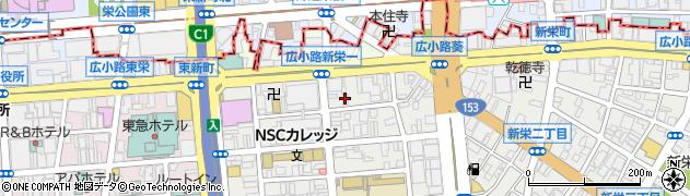 くうかい周辺の地図