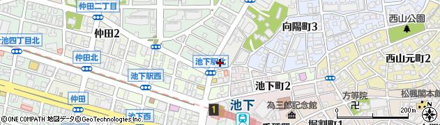 佐世保周辺の地図