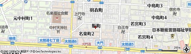 大門園周辺の地図