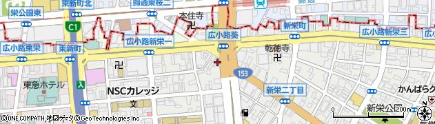ショーゲン周辺の地図