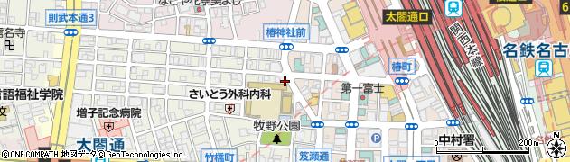 寿司常周辺の地図