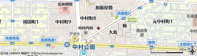 欽ちゃん焼き肉168周辺の地図